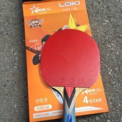 Combo vợt, mặt vợt chuẩn Star Loki 4 sao